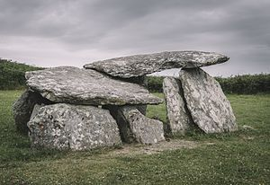 Wedge-shaped gallery grave - Altar Wedge Tomb, County Cork