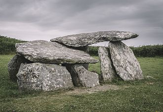 Gallery grave - Altar Wedge Tomb, County Cork