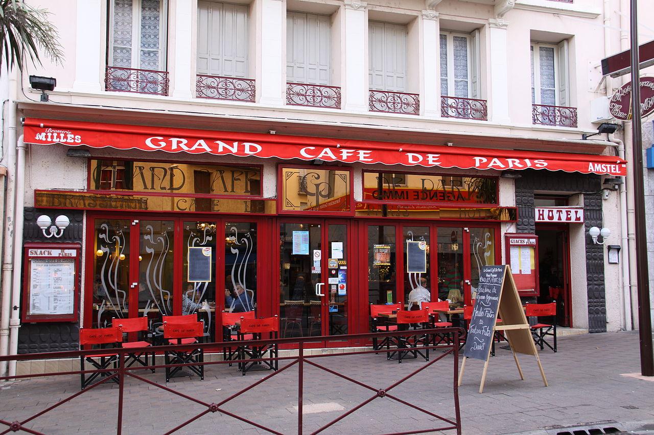 Le Caf Ef Bf Bd A  Rue Du Faubourg Saint Martin