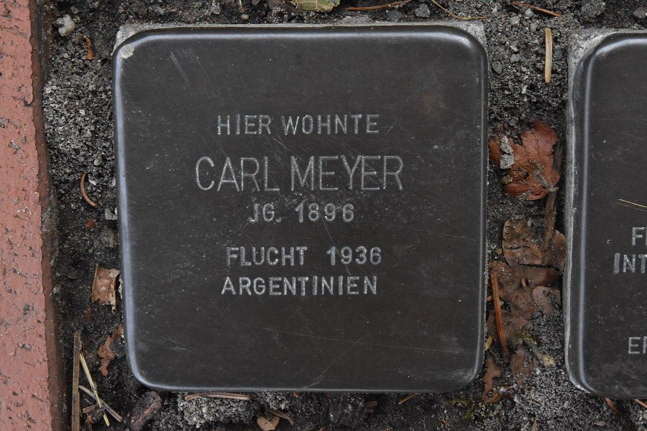 Stolperstein für Carl Meyer