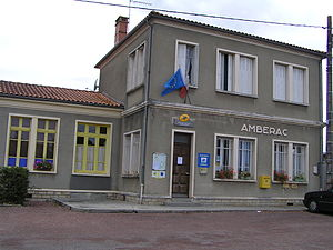 Ambérac - The Post Office