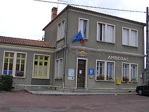 Ambérac - The Post Office