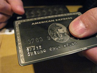 Centurion Card Invitation-only charge card issued by American Express