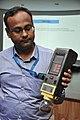 Amitava Akuli Demonstrates CDAC Handheld Electronics Nose - NCSM - Kolkata 2018-04-23 0297.JPG