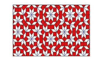 Robert Ammann - Ammann–Beenker tiling