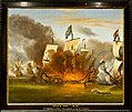 Amsterdam - Scheepvaartmuseum - schilderij Zeeslag bij Solebay.jpg
