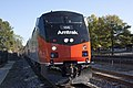 Amtrak 156 at Rockville station, October 2011.jpg