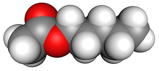 Amyl acetate-3D-vdW