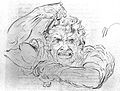 Anatomical expression of rage. Wellcome L0000385.jpg