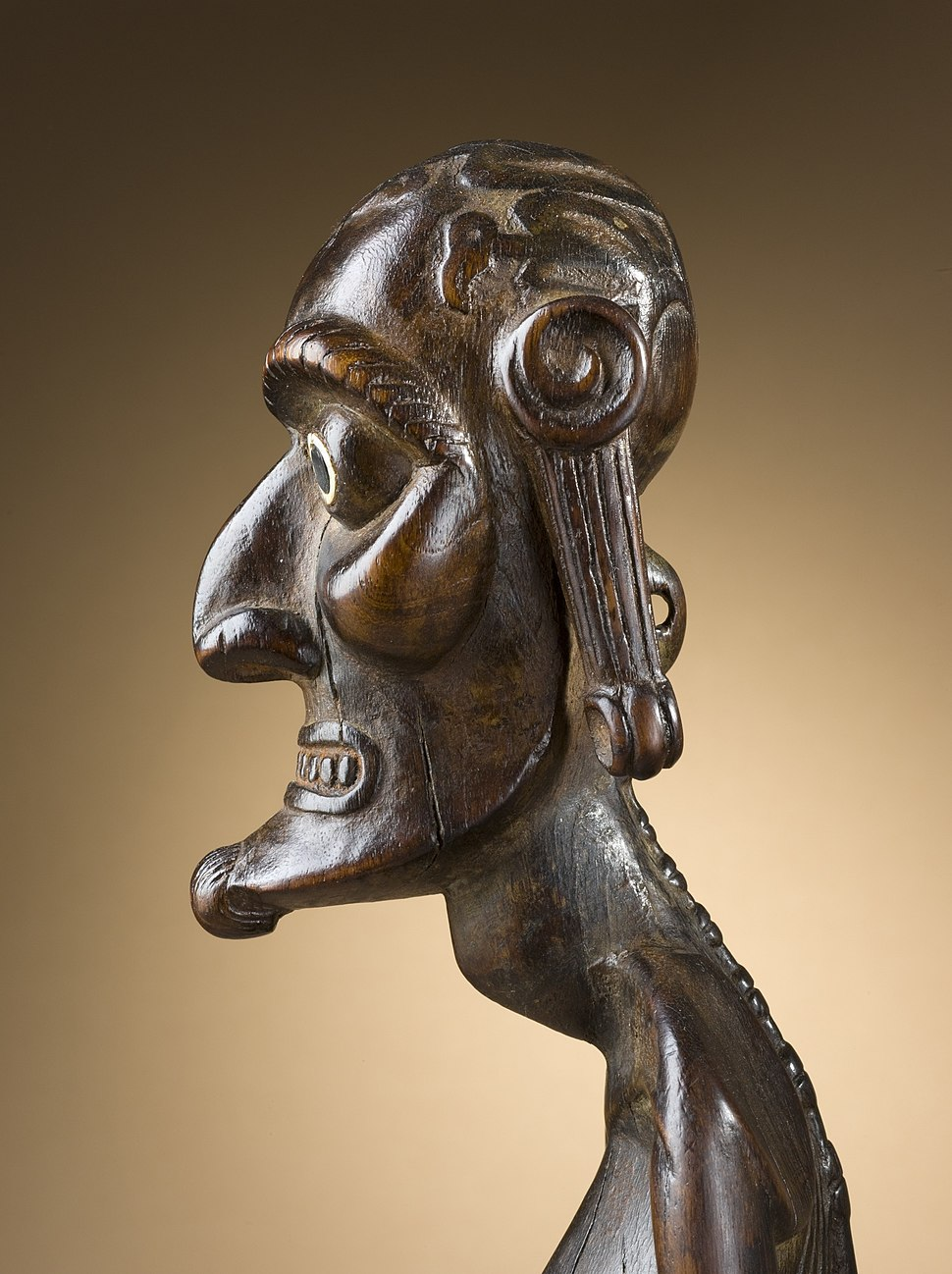 Ancestor Figure (moai kavakava) LACMA M.2008.66.6 (2 of 3)