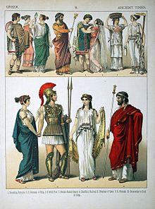 932cac2a03 Greek dress - Wikipedia