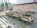 Ancient wagons within Blists Hill Open Air Museum - geograph.org.uk - 1461906.jpg