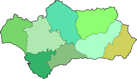 Andalusia blank map.svg