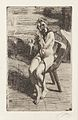 Anders Zorn - The Braid (etching) 1912.jpg