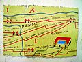 Andesina presented on the famous Peutinger map, Roman Grand (Andesina), France (7693883814).jpg