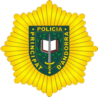 Police Corps of Andorra - Logo of the Police Corps of Andorra