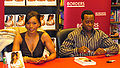 Angela Bassett and Vance promote Love Story book by David Shankbone.jpg