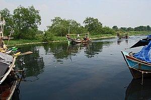 Penjaringan - Muara Angke Wildlife Sanctuary contains the original mangrove forest of Jakarta.