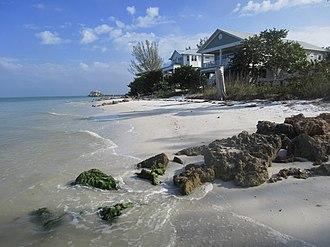 Anna Maria, Florida - Beachfront homes in Anna Maria.