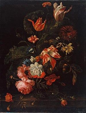 Anna Katharina Block - Flowers, ca 1660