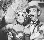 Annalisa Ericson och Nils Poppe i musikalen Teaterbåten 1942