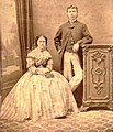 Annie Chapman and her husband in 1869.jpg