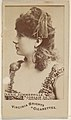 Annie Summerville, Corsair Co., from the Actors and Actresses series (N45, Type 6) for Virginia Brights Cigarettes MET DP831200.jpg