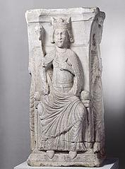 Dieu, la Vierge à l'Enfant et deux martyrs