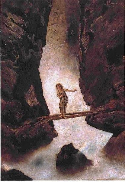 File:Anton Romako - Am Wasserfall.jpg