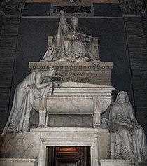 Antonio Canova-Tomb of Pope Clemens XIV.jpg
