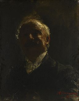 Antonio Mancini - Self-Portrait - 71.50 - Minneapolis Institute of Arts
