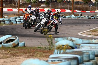Supermoto - Apex raceway supermoto