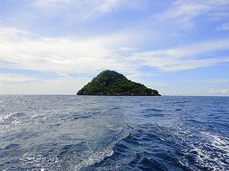 Daanbantayan - Image: Approaching Gato Islet