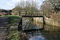 Approaching the footbridge over the Nottingham Canal - geograph.org.uk - 1197223.jpg