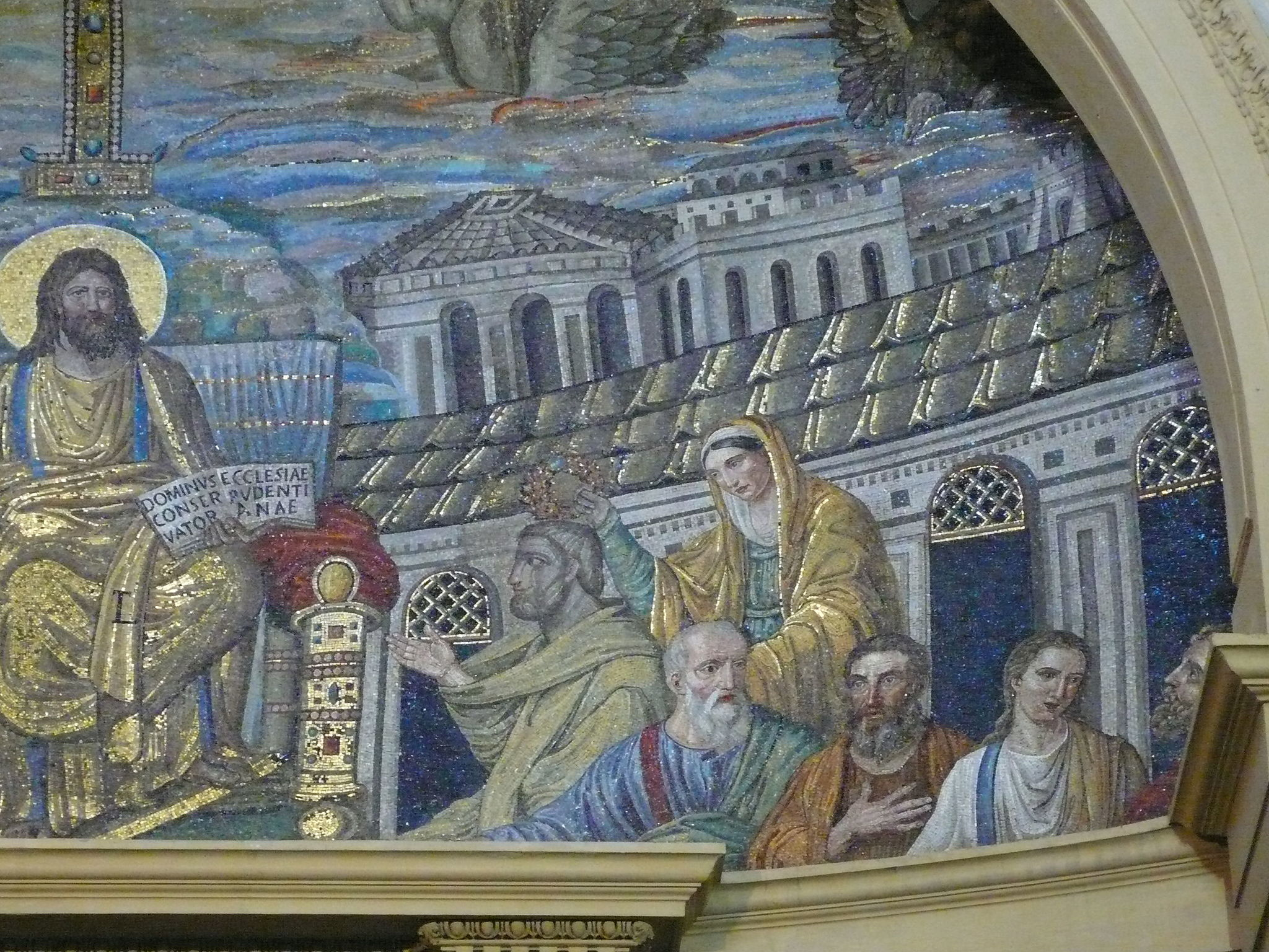 Apsis mosaic, Santa Pudenziana, Rome W5