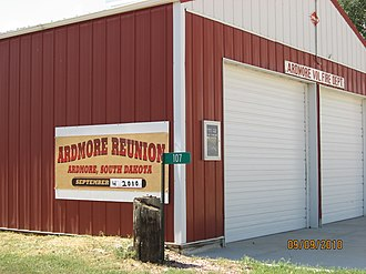 Ardmore, South Dakota - 2010 Reunion of the Ardmore Volunteer Fire Department.