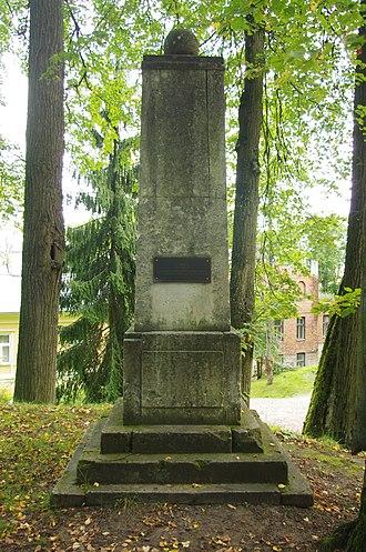 Johann Karl Simon Morgenstern - Image: Area Morgensterniana 1