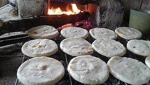 Arepa - Image: Arepa, sabor y tradición del campo ancient tradition