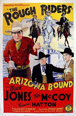 Buck Jones - Jones on the poster for the western Arizona Bound (1941).