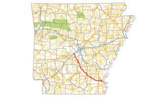 Arkansas Highway 35 highway in Arkansas