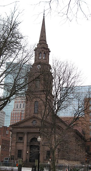Boston Landmark - Image: Arlington St Ch 09