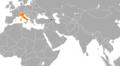 Armenia Italy Locator.png