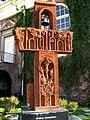 Armenian Genocide memorial at St Marys Armenian Apostolic Church in Glendale.jpg