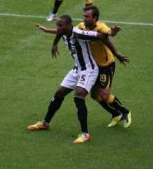 Yoann Arquin - Arquin playing for Notts County in 2012
