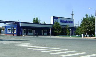 Automotive industry in Uzbekistan - GM-Uzbekistan is the biggest automobile manufacturer in Uzbekistan