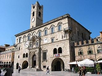 Ascoli Piceno - Palazzo dei Capitani del Popolo.
