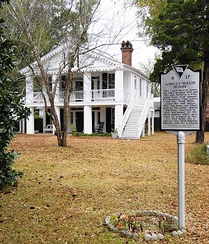 National Register of Historic Places listings in Barnwell County, South Carolina - Image: Ashley Willis House