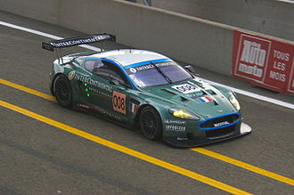 Larbre Compétition - Larbre's Aston Martin DBR9 at the 2007 24 Hours of Le Mans.
