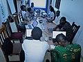 Atelier de rédaction d'article a Cotonou par les Wikimédiens du Bénin2.jpg