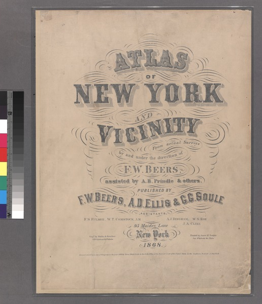 File:Atlas of New York and vicinity - from actual surveys - by and under the direction of F. W. Beers, assisted by A. B. Prindle and others NYPL1516802.tiff